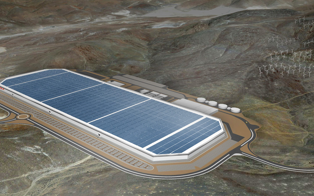 Tesla está sorteando 12 viajes a la inauguración de su Gigafactoría