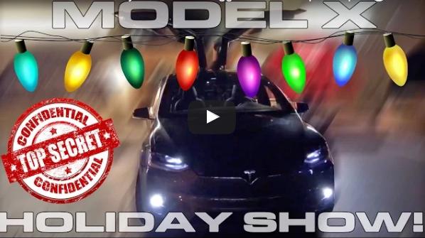 Nuevo huevo de pascua desvelado en el Model X