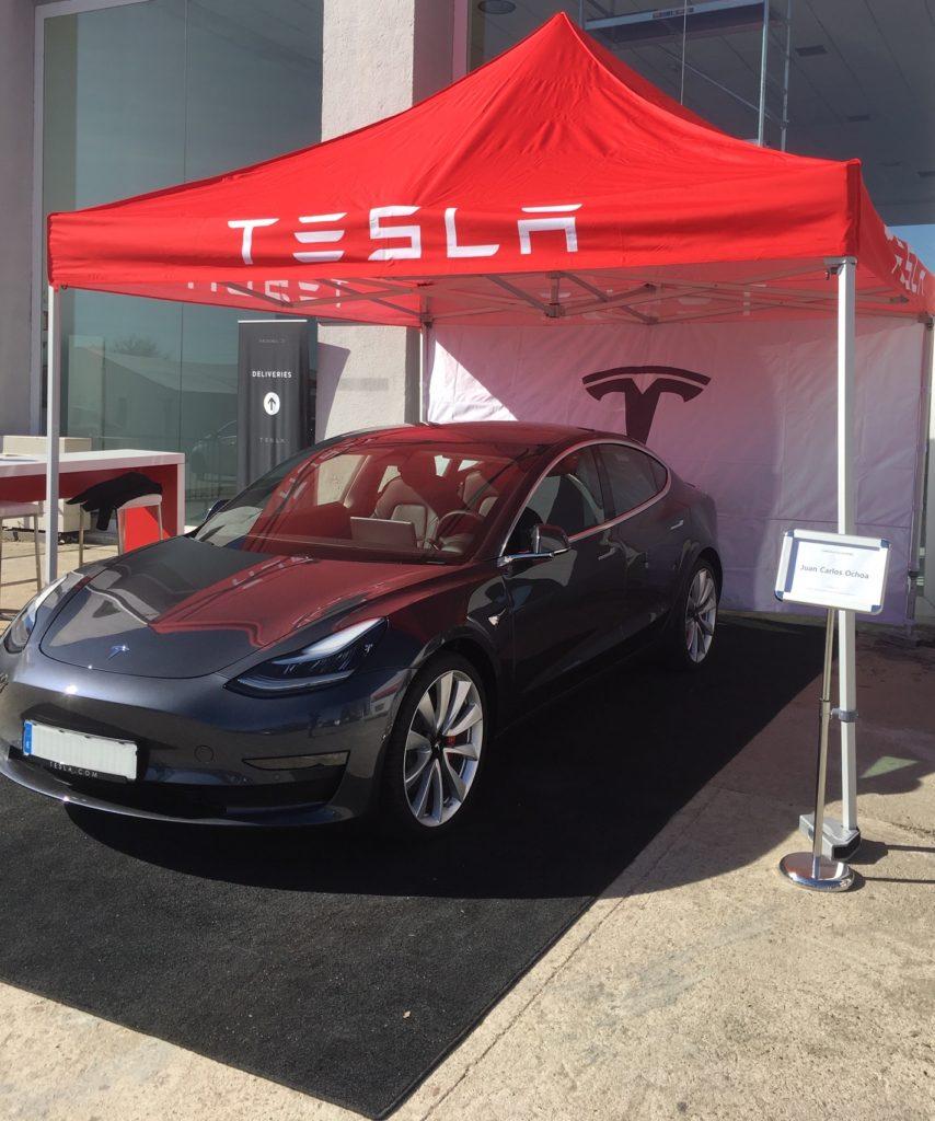 Entrega Tesla Model 3 Performance