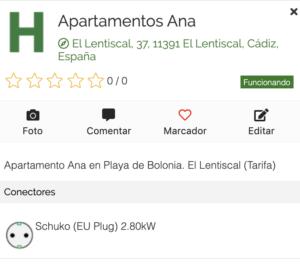 Apartamentos Ana en Electromaps