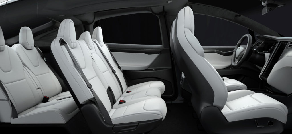 Versión con siete asientos.
