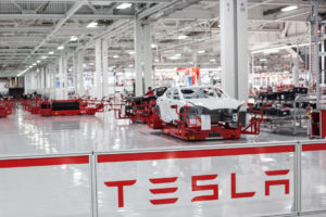 Tesla Motors Factory.