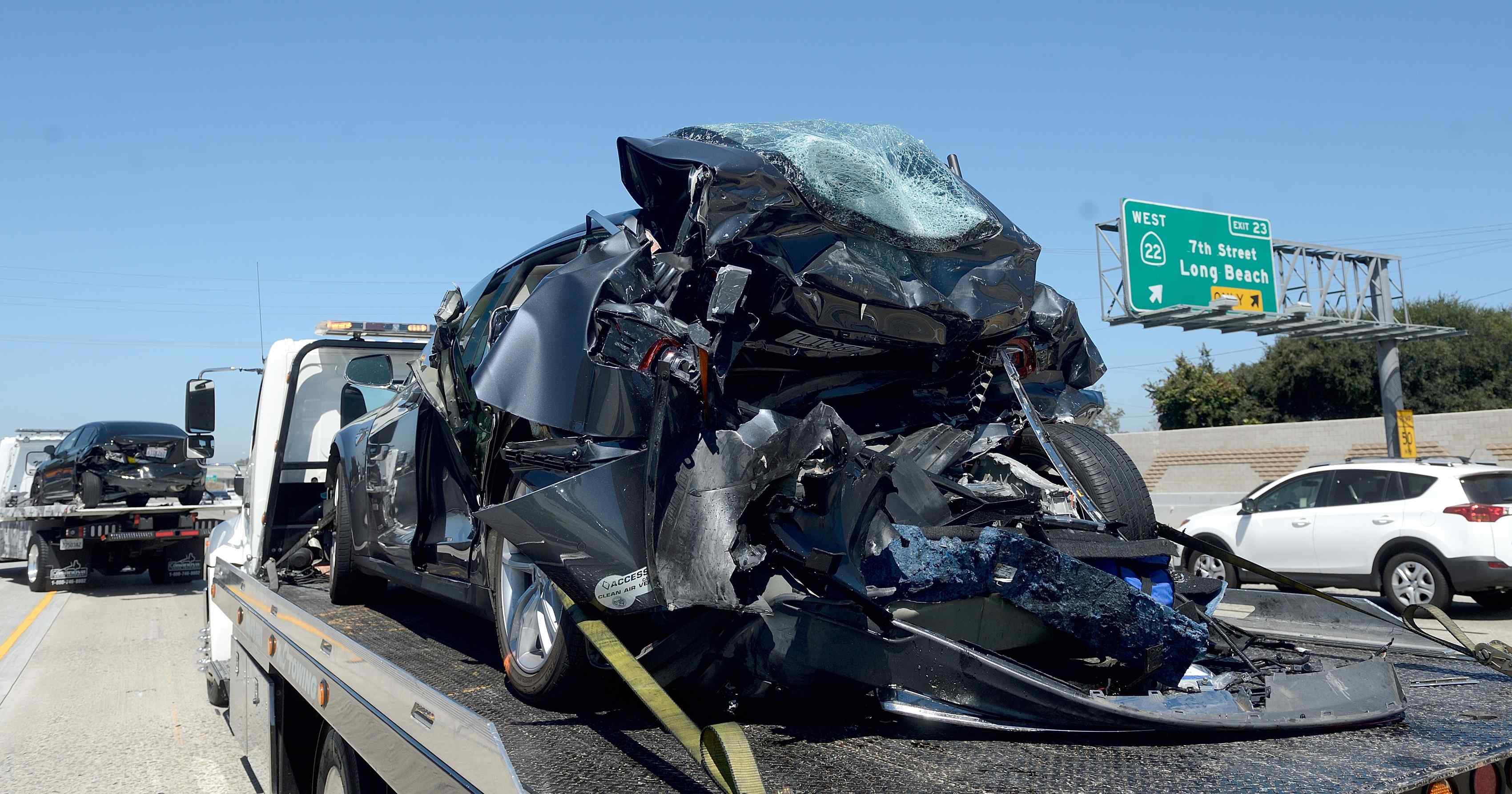 Accidente Model S California