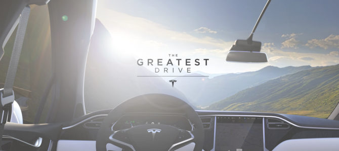 Tesla lanza el concurso The Greatest Drive